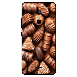 Coque De Protection Chocolat Pour Alcatel 3c