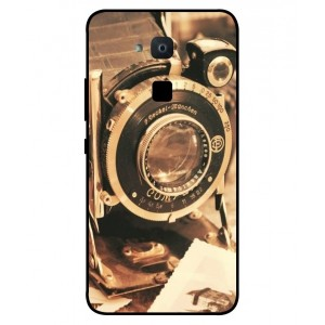Coque De Protection Appareil Photo Vintage Pour BQ Aquaris VS Plus