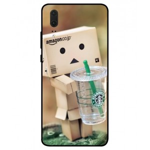 Coque De Protection Amazon Starbucks Pour Huawei P20