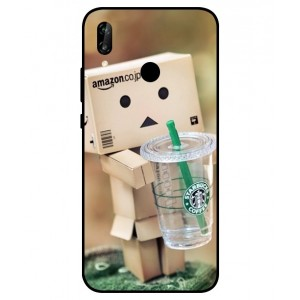 Coque De Protection Amazon Starbucks Pour Huawei P20 Lite