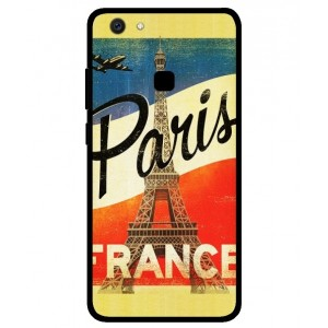 Coque De Protection Paris Vintage Pour Vivo V7