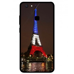 Coque De Protection Tour Eiffel Couleurs France Pour Vivo V7