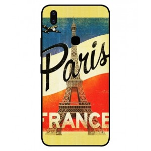 Coque De Protection Paris Vintage Pour Vivo V9