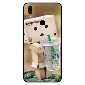 Coque De Protection Amazon Starbucks Pour Vivo V9