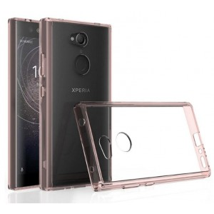 Protection Bumper Rose Pour Sony Xperia L2