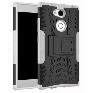 Protection Antichoc Type Otterbox Blanc Pour Sony Xperia L2
