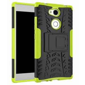 Protection Antichoc Type Otterbox Vert Pour Sony Xperia L2