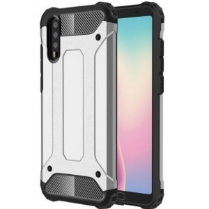 Protection Antichoc Type Otterbox Blanc Pour Huawei P20
