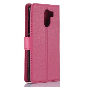 Protection Intégrale Portefeuille En Cuir Rose Pour Wileyfox Swift 2