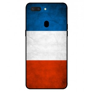 Coque De Protection Drapeau De La France Pour Oppo R15 Dream Mirror Edition