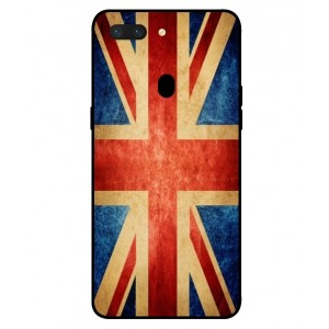 Coque De Protection Drapeau Vintage Royaume Uni Pour Oppo R15 Dream Mirror Edition