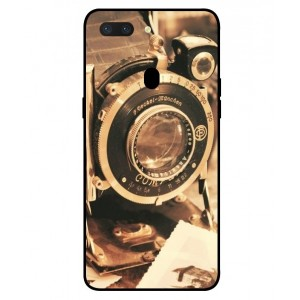 Coque De Protection Appareil Photo Vintage Pour Oppo R15 Dream Mirror Edition