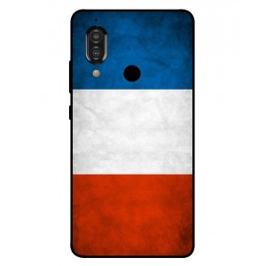 Coque De Protection Drapeau De La France Pour Sharp Aquos S3