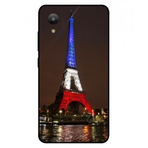 Coque De Protection Tour Eiffel Couleurs France Pour Sharp Aquos S3 Mini