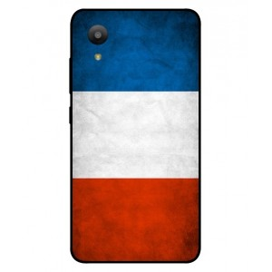Coque De Protection Drapeau De La France Pour Sharp Aquos S3 Mini