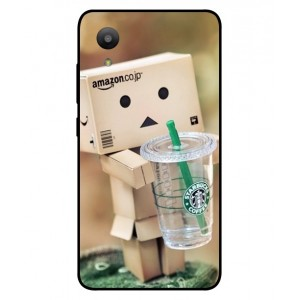 Coque De Protection Amazon Starbucks Pour Sharp Aquos S3 Mini