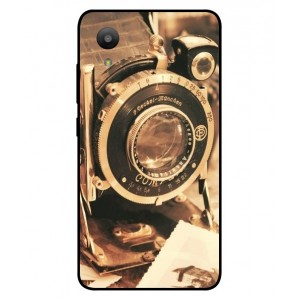 Coque De Protection Appareil Photo Vintage Pour Sharp Aquos S3 Mini