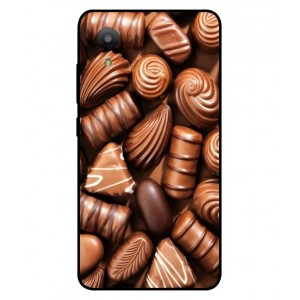 Coque De Protection Chocolat Pour Sharp Aquos S3 Mini