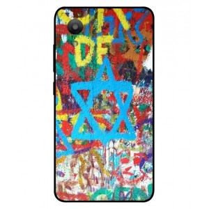 Coque De Protection Graffiti Tel-Aviv Pour Sharp Aquos S3 Mini
