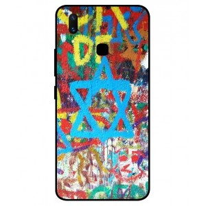 Coque De Protection Graffiti Tel-Aviv Pour Vivo X21