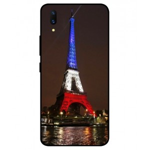 Coque De Protection Tour Eiffel Couleurs France Pour Vivo X21 UD