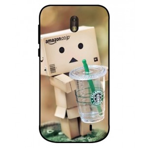 Coque De Protection Amazon Starbucks Pour Nokia 1