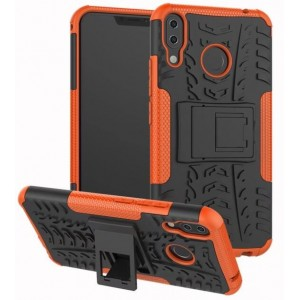 Protection Antichoc Type Otterbox Orange Pour Asus Zenfone 5z ZS620KL