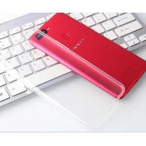Coque De Protection En Silicone Transparent Pour Oppo R15