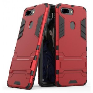 Protection Antichoc Type Otterbox Rouge Pour Oppo R15