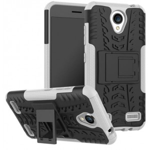 Protection Antichoc Type Otterbox Blanc Pour ZTE Blade A520