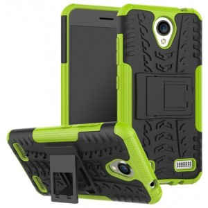 Protection Antichoc Type Otterbox Orange Pour ZTE Blade A520