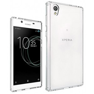 Coque De Protection En Silicone Transparent Pour Sony Xperia L1