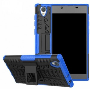 Protection Antichoc Type Otterbox Bleu Pour Sony Xperia L1