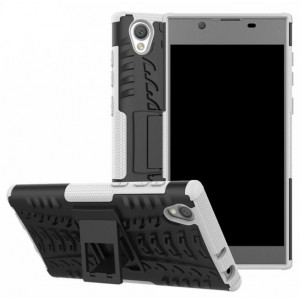 Protection Antichoc Type Otterbox Blanc Pour Sony Xperia L1
