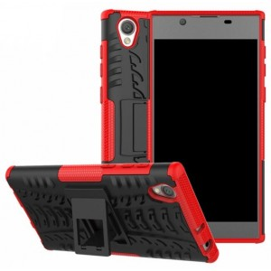 Protection Antichoc Type Otterbox Rouge Pour Sony Xperia L1