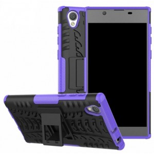 Protection Antichoc Type Otterbox Violet Pour Sony Xperia L1