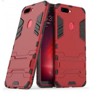 Protection Antichoc Type Otterbox Rouge Pour Oppo R11s Plus