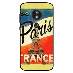Coque De Protection Paris Vintage Pour Motorola Moto E5 Play