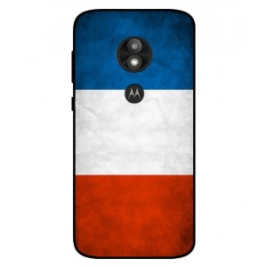 Coque De Protection Drapeau De La France Pour Motorola Moto E5 Play