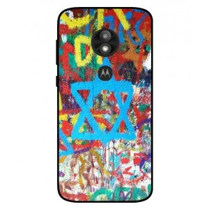 Coque De Protection Graffiti Tel-Aviv Pour Motorola Moto E5 Play