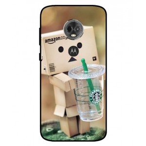 Coque De Protection Amazon Starbucks Pour Motorola Moto E5 Plus