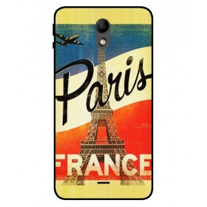 Coque De Protection Paris Vintage Pour Wiko Kenny