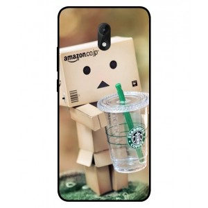 Coque De Protection Amazon Starbucks Pour Wiko Lenny 5