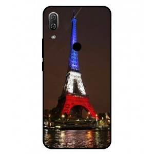 Coque De Protection Tour Eiffel Couleurs France Pour Wiko View 2