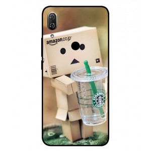 Coque De Protection Amazon Starbucks Pour Wiko View 2