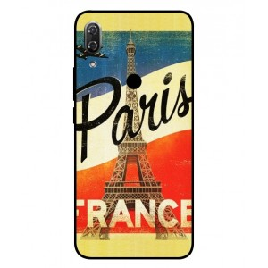 Coque De Protection Paris Vintage Pour Wiko View 2 Pro