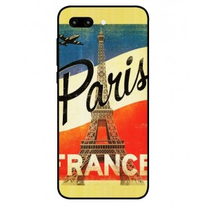 Coque De Protection Paris Vintage Pour Huawei Honor 10