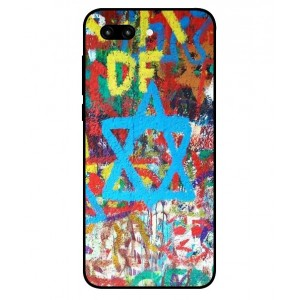 Coque De Protection Graffiti Tel-Aviv Pour Huawei Honor 10