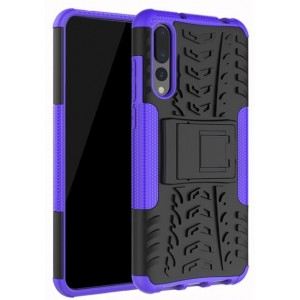 Protection Antichoc Type Otterbox Violet Pour Huawei P20 Pro