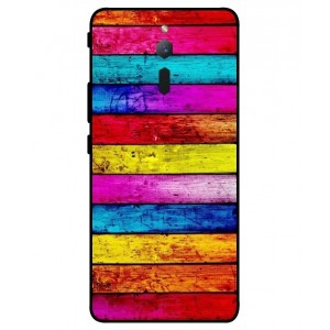Coque De Protection Bois Arc-En-Ciel Pour ZTE Nubia Red Magic